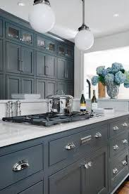 painting kitchen cabinets two colors two toned kitchen cabinets