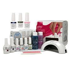 amazon com gelish harmony complete starter led gel nail polish