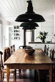 Farmhouse Kitchen Lighting Fixtures by Best 25 Rustic Farmhouse Table Ideas On Pinterest Farm Kitchen