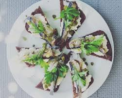 d8 cuisine bruschettas with smoked herring picture of isla cuisine