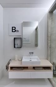 15 exles of bathroom vanities that open shelving