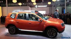 renault dacia 2016 auto expo 2016 renault duster easy r amt unveiled car news