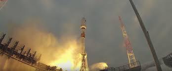 russian soyuz 2 1b rocket successfully launches tundra satellite