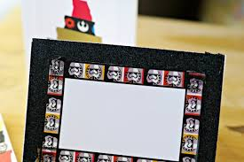 wars christmas card easy diy wars christmas cards clever pink pirate