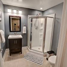 Basement Bathroom Renovation Ideas Best 25 Basement Bathroom Ideas On Pinterest Basement Bathroom