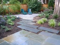 Backyard Cement Ideas Generous Cement Backyard Ideas Photos Landscaping Ideas For