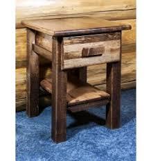 barnwood nightstands reclaimed wood nightstands u0026 weathered wood