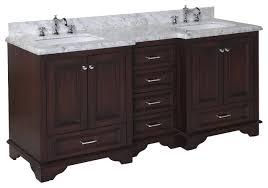 72 Double Bathroom Vanities by Nantucket 72