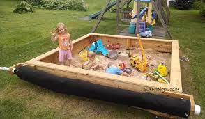 Backyard Sandbox Ideas Sandbox Pictures Of Builds And Happy Kiddos Sandigz