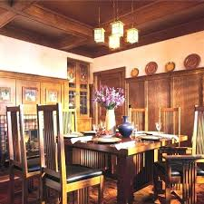 Arts And Crafts Dining Room Furniture Arts And Crafts Dining Room Set Jcemeralds Co
