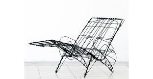 anders hermansen design trapholt wire sketch chair