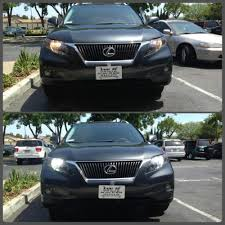 lexus is300 xenon lights drl upgrade to hid 6000k 2010 rx 350 clublexus lexus forum