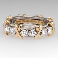 tiffany stone rings images Tiffany co schlumberger sixteen stone ring diamond platinum jpg