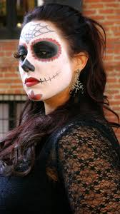 halloween look sugar skull makeup geek