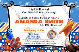 nemo baby shower novel concept designs finding nemo our fish baby