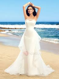 rent a wedding dress dazzling strapless ruffles tulle ivory mermaid wedding dress