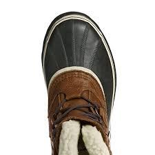 boots moto sorel men u0027s caribou wl pull on boots 510 tobacco shoes sorel