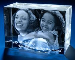 best engraved gifts 3d laser gifts custom laser crystals portraits 3d