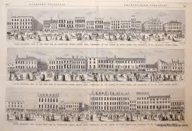 Map Of Boston Ma Panorama Of West Side Of Washington Street Boston Sold