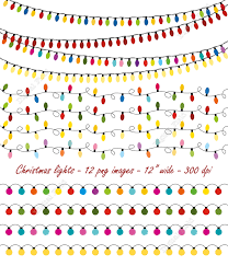 string christmas lights clipart 26