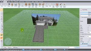 Home Design 3d Expert Software by The 4 Minute 3d Landscape Plan Youtube