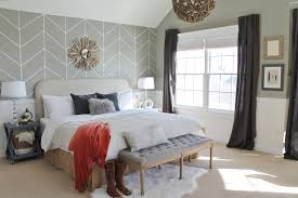 rustic chic mini master reveal my desk rustic chic master bedroom reveal diy headboard wallpaper