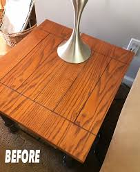 How To Paint A Table How To Paint A Gray Weathered Finish On Furniture Easy