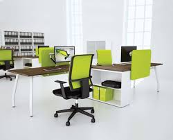 Modern White Office Table Office Fascinating Modern Office Desk Design Combined With Grey