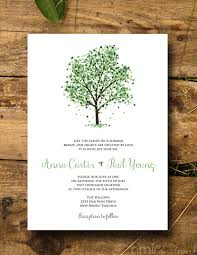 tree wedding invitations nature inspired tree wedding invitations mid south