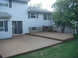 tips prefabricated decks ground level deck 16x16 deck plans