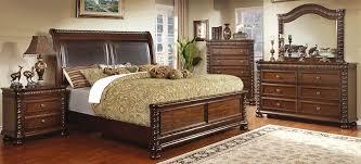 buy furniture of america cm7986q set mandeville bedroom set