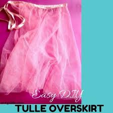 how to make tulle skirt how to make a tulle skirt the easiest way sew guide
