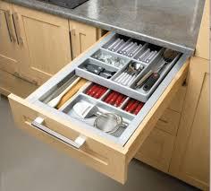 tiroir interieur cuisine les rangements de tiroir