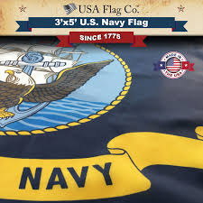 Navy Flag Meanings Us Navy Flag 3x5 Foot By Usa Flag Co