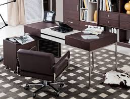Modern L Shape Desk by Modern L Shaped Desk With Side Cabinet Detroit Michigan Vig Ezra