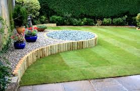 Backyard Lawn Ideas Garden Simple Easy Backyard Landscaping Ideas Azzi With