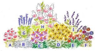 flower garden layout flower garden layout ideas the gardening