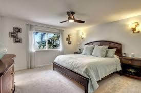 Ceiling Fan Sconces Master Bedroom With Ceiling Fan U0026 Wall Sconce In Mill Creek Wa