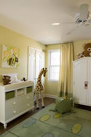Lemon Nursery Curtains Nursery Armoire Transitional Nursery Farrow And Hound