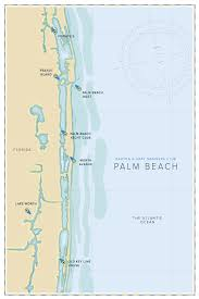 Palm Beach Map Barton U0026 Gray Mariners Club