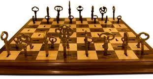cool chess set ice chess set makes for one cool game craziest gadgets