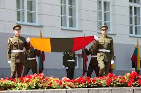 Flag Of Lithuania Picture Flag Replacement Ceremony President Of The Republic Of Lithuania