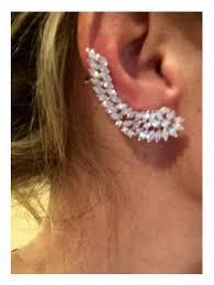 diamond ear cuff diamond ear cuff cartilage earring ear cuff diamond