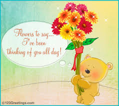 bearing thoughts free teddy bears ecards greeting cards 123