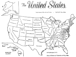 Map Of The Us Blank by Us Map Clipart Black And White Clipground