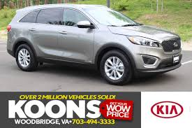 new kia sorento at koons kia of woodbridge serving alexandria