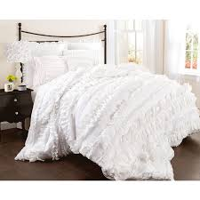 bedroom ruffle bedding ruffle bedding boho chic bedding