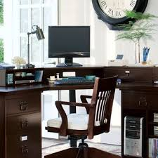 Wood Corner Desk With Hutch Bedford Smart Technology Corner Desk From Pottery Barn Home