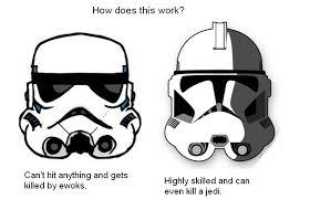 Star Wars Stormtrooper Meme - clone trooper vs storm trooper meme by ta wint on deviantart