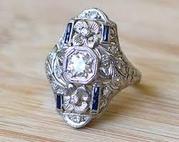 art deco engagement rings trulagreen com
